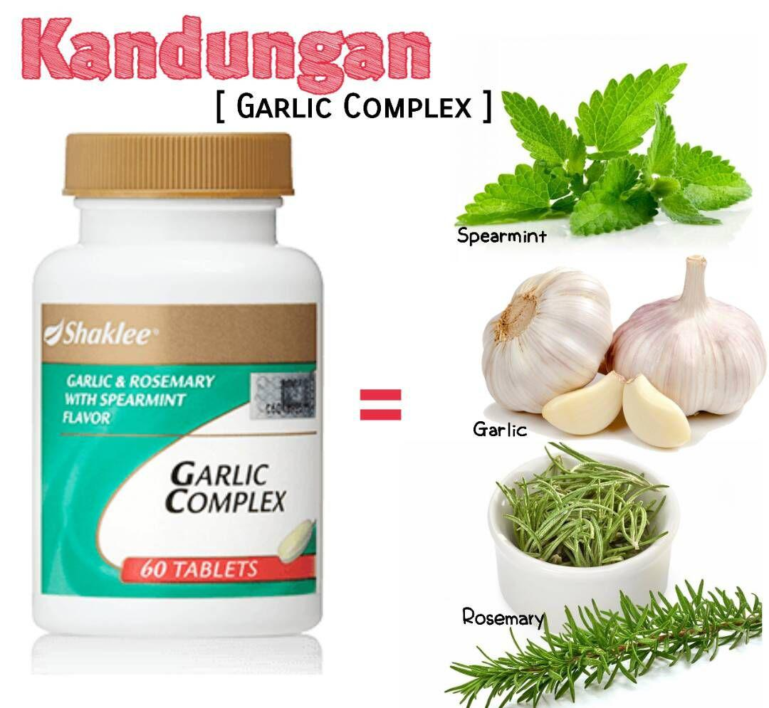9 Manfaat Garlic Complex Shaklee