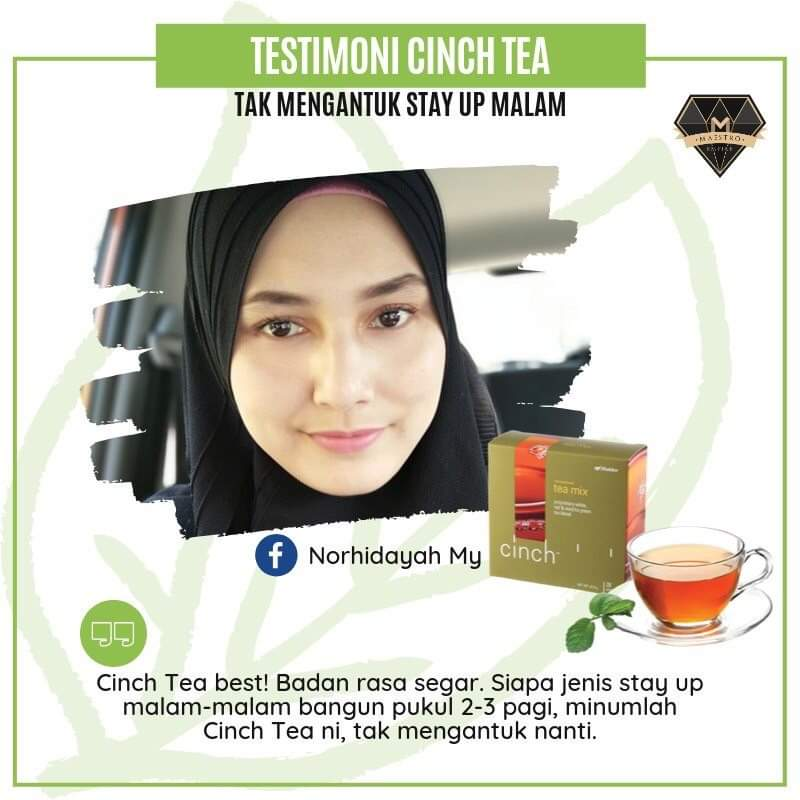 Cinch Tea Tak Mengantuk