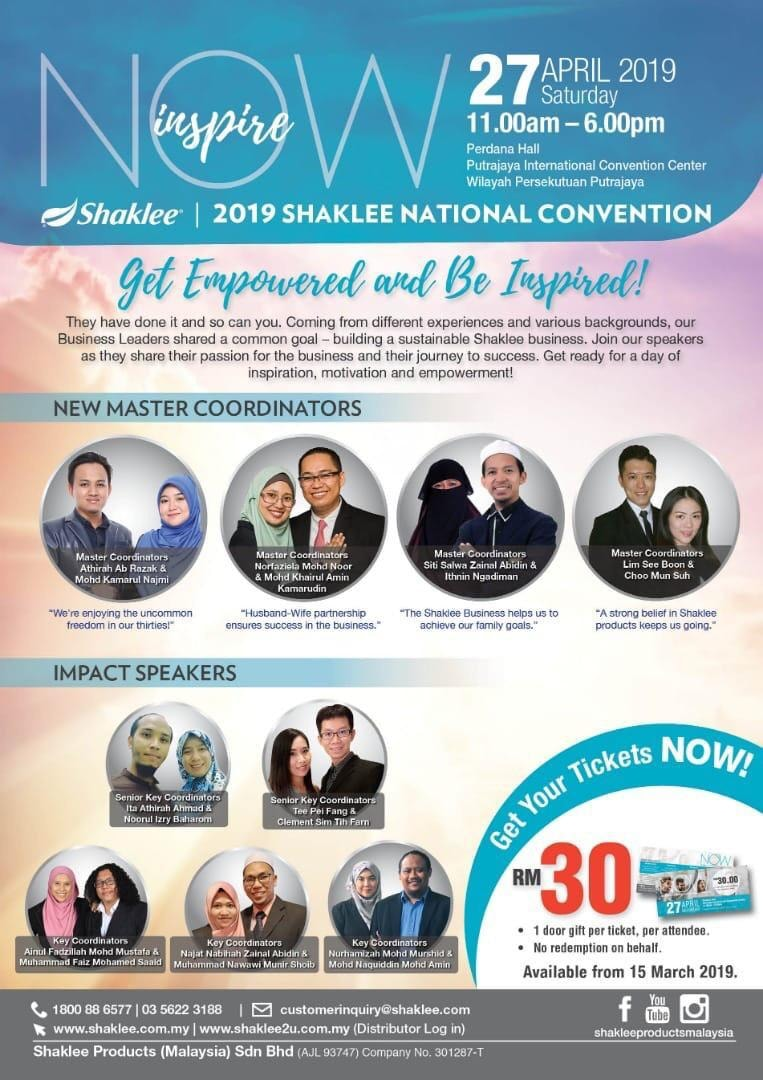 Impact Speaker National Conference Shaklee 2019